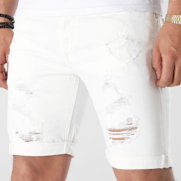 Jack And Jones - Short Jean Rick Original Ecru
