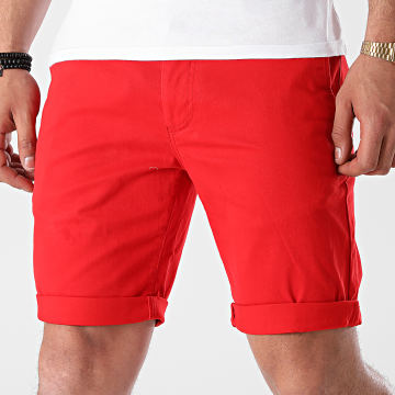 Tommy Jeans - Short Chino Scanton 1076 Rouge