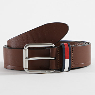 Tommy Jeans - Ceinture Casual Flag 7196 Marron