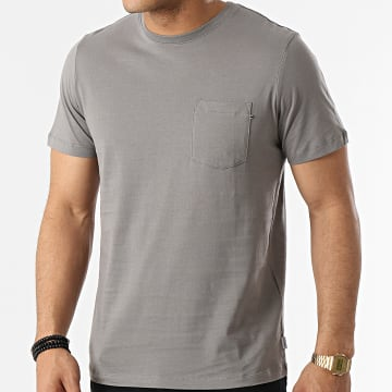 Jack And Jones - Tee Shirt Poche 12136714 Gris