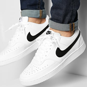 Nike - Baskets Court Vision Low CD5463 White Black