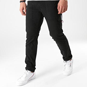 Tommy Jeans - Pantalon Cargo Scanton Dobby 1281 Noir