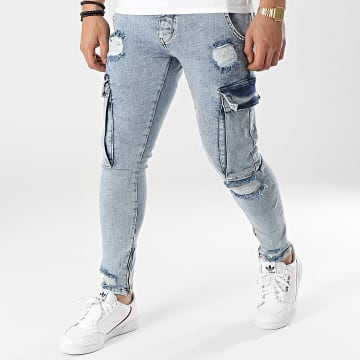 2Y Premium - Jean Skinny B6009 Bleu Denim