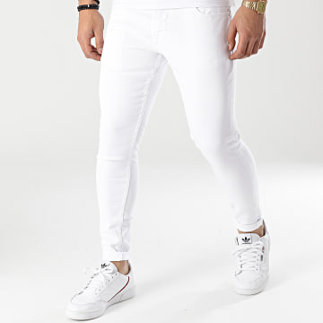 2Y Premium - Jean Skinny B5616 Blanc