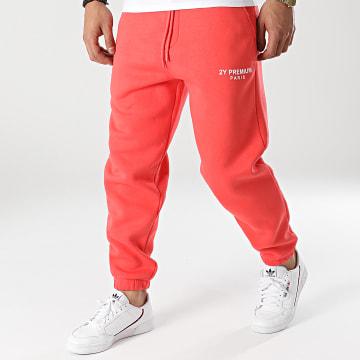 2Y Premium - Pantalon Jogging 5263 Corail
