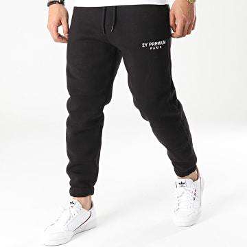2Y Premium - Pantalon Jogging 5263 Noir