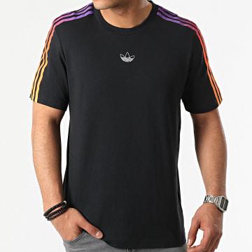 Adidas Originals - Tee Shirt A Bandes GN2423 Noir