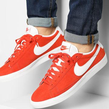 Nike - Baskets Blazer Low Suede CZ4703 Mantra Orange White