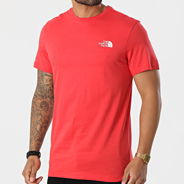 The North Face - Tee Shirt Simple Dome A2TX5 Rouge