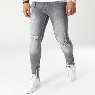 2Y Premium - Jean Skinny B5899 Gris