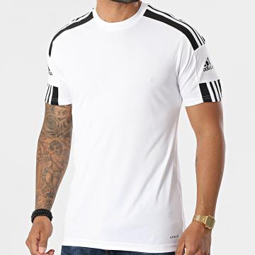 Adidas Performance - Tee Shirt De Sport A Bandes Squad 21 GN5723 Blanc