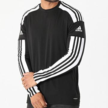 Adidas Performance - Tee Shirt De Sport Manches Longues A Bandes Squad 21 GN5742 Noir