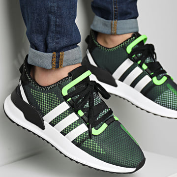 Adidas Originals - Baskets U Path Run FY5688 Core Black Cloud White Solar Green