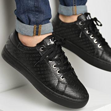 Calvin Klein - Baskets Cupsole Sneaker Lace Up 0031 Black