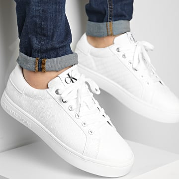 Calvin Klein - Baskets Cupsole Sneaker Lace Up 0031 Bright White
