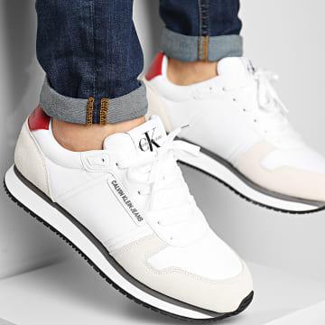 Calvin Klein - Baskets Runner Sneaker Lace Up 0038 Bright White