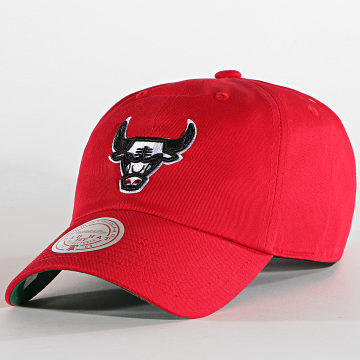Mitchell and Ness - Casquette Team Ground Roy 6LUXMM20001 Chicago Bulls Rouge