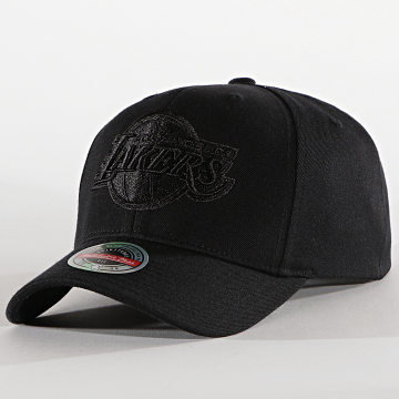 Mitchell and Ness - Casquette Snapback Blacklight 6HSSMM19476 Los Angeles Lakers Noir