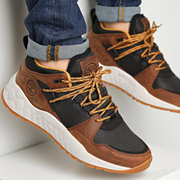 Timberland - Baskets Solar Wave EarthKeepers Low A2CUH Mid Brown Full Grain