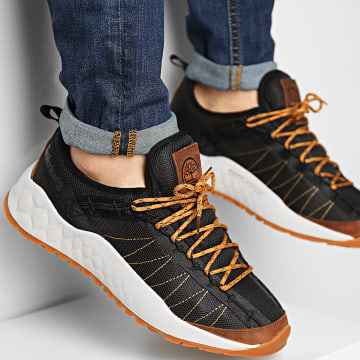 Timberland - Baskets Solar Wave EarthKeepers Low A2CR1 Black Mesh