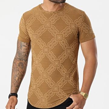 Uniplay - Tee Shirt Oversize UY580 Camel