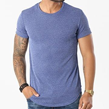 Uniplay - Tee Shirt Oversize UY61 Bleu Chiné