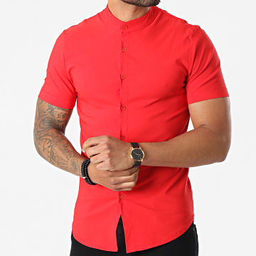 Uniplay - Chemise Manches Courtes UP-C061 Rouge