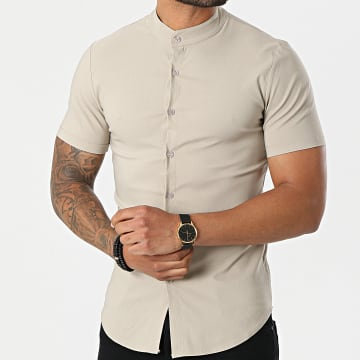 Uniplay - Chemise Manches Courtes UP-C061 Beige