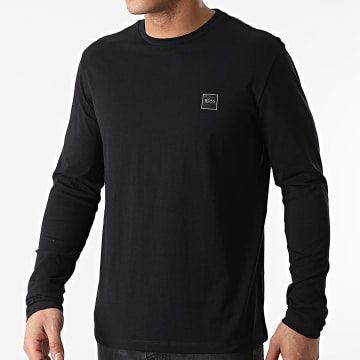 BOSS - Tee Shirt Manches Longues Tacks 50459456 Noir