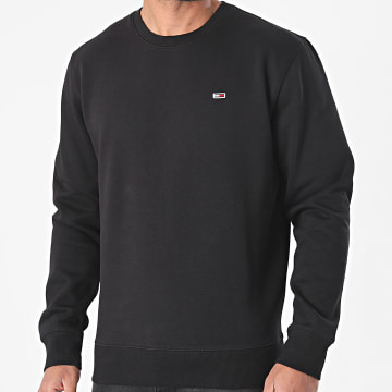 Tommy Jeans - Sweat Crewneck Regular Fleece 9591 Noir