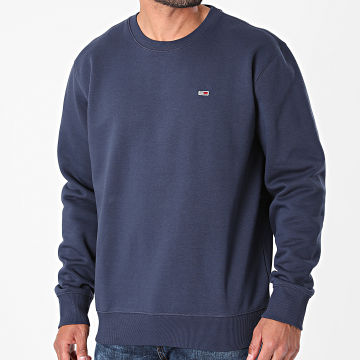 Tommy Jeans - Sweat Crewneck Regular Fleece 9591 Bleu Marine