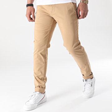 Tommy Jeans - Pantalon Chino Slim Scanton 9595 Camel