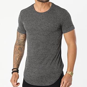 Uniplay - Tee Shirt Oversize UY615 Noir Chiné
