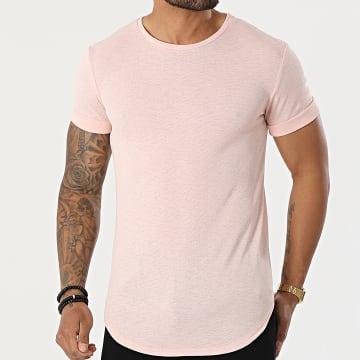 Uniplay - Tee Shirt Oversize UY615 Rose