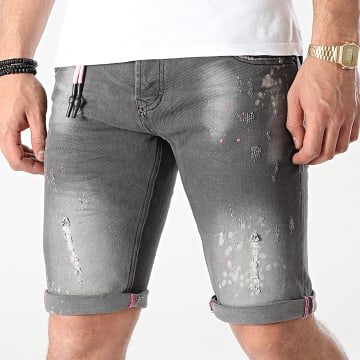 Uniplay - Short Jean 335 Gris