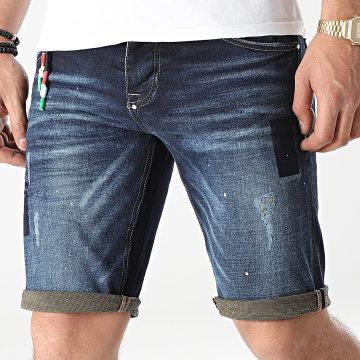 Uniplay - Short Jean 357 Bleu Denim