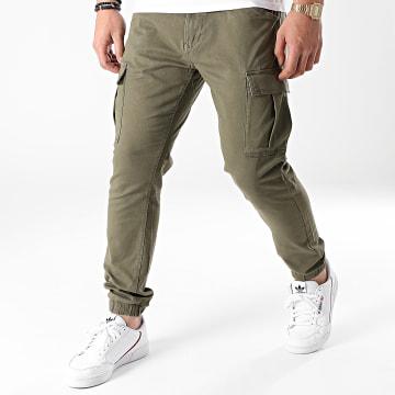 Esprit - Jogger Pant Slim 080CC2B312 Vert Kaki