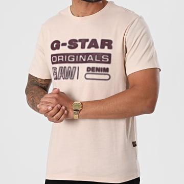 G-Star - Tee Shirt D19845-336 Rose