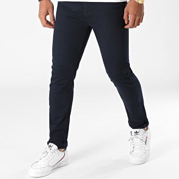 LBO - Pantalon Chino 1203 Bleu Marine