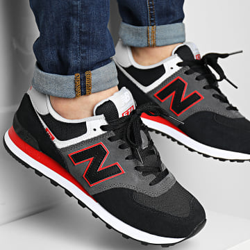New Balance - Baskets Classics 574 ML574SM2 Black Grey