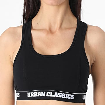Urban Classics - Brassière Femme TB1490 Noir
