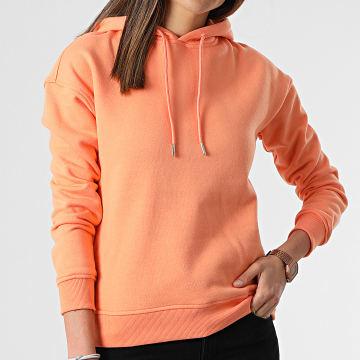 Urban Classics - Sweat Capuche Femme TB1524 Orange