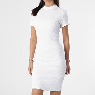 Urban Classics - Robe Femme Manches Courtes TB3641 Blanc