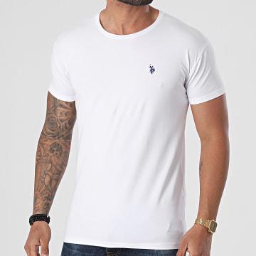 US Polo ASSN - Tee Shirt Basic Blanc