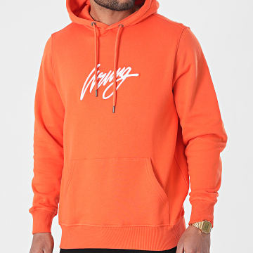 Wrung - Sweat Capuche 3D Sign SS21-HO1 Orange