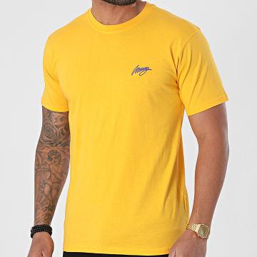 Wrung - Tee Shirt Mekart SS21-TS02 Jaune
