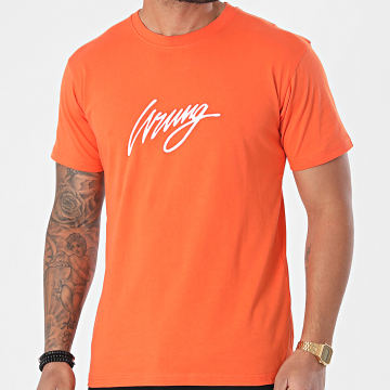 Wrung - Tee Shirt 3D Sign SS21-TS01 Orange