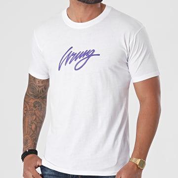 Wrung - Tee Shirt 3D Sign SS21-TS01 Blanc
