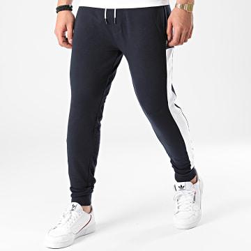 BOSS - Pantalon Jogging A Bandes Fashion 50450056 Bleu Marine