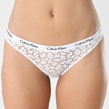 Calvin Klein - Culotte Femme QD3860E Blanc